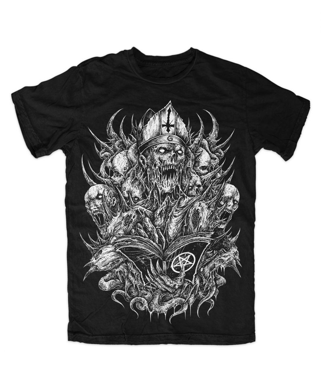 Curse (fekete póló)