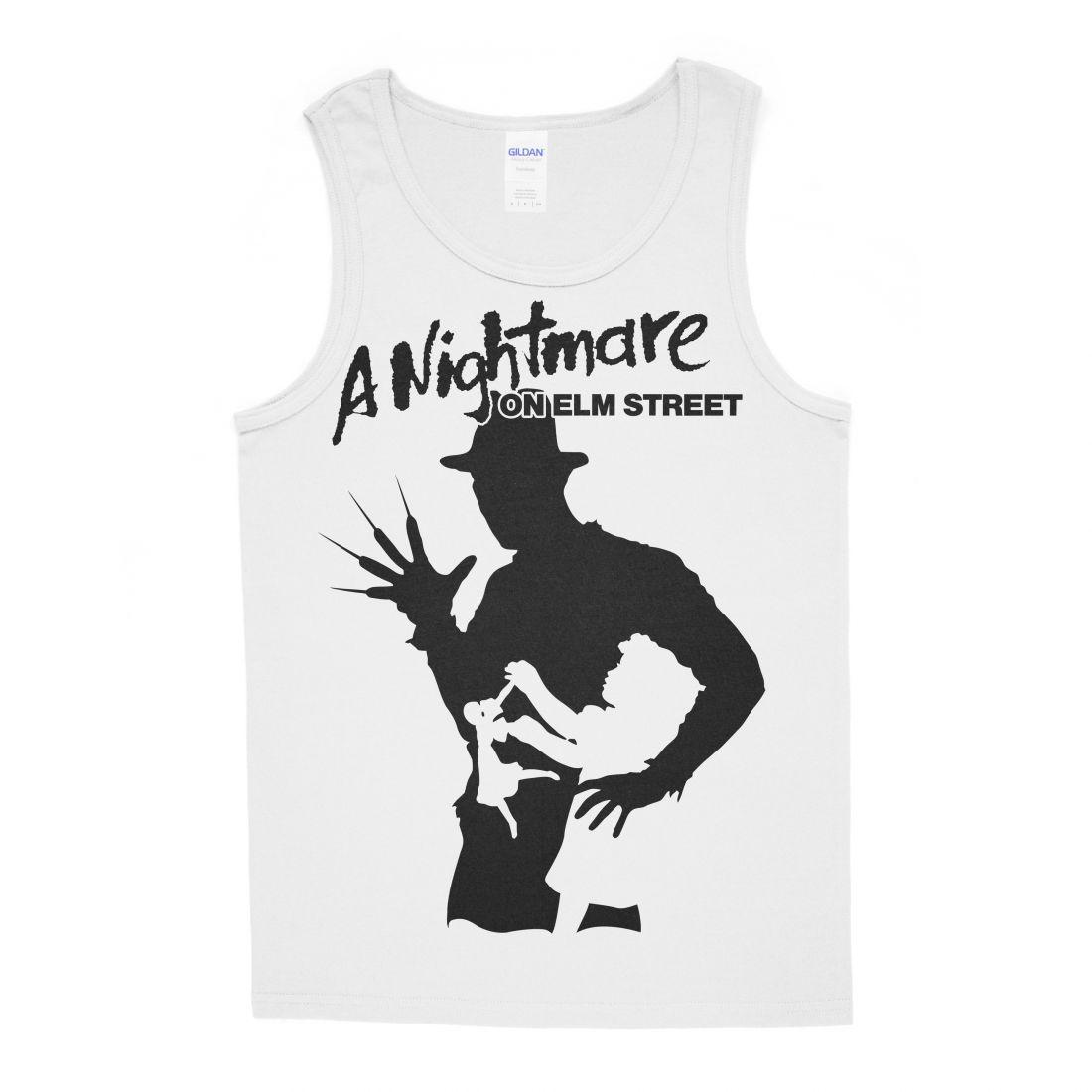 A Nightmare On Elm Street 001 (fehér trikó)