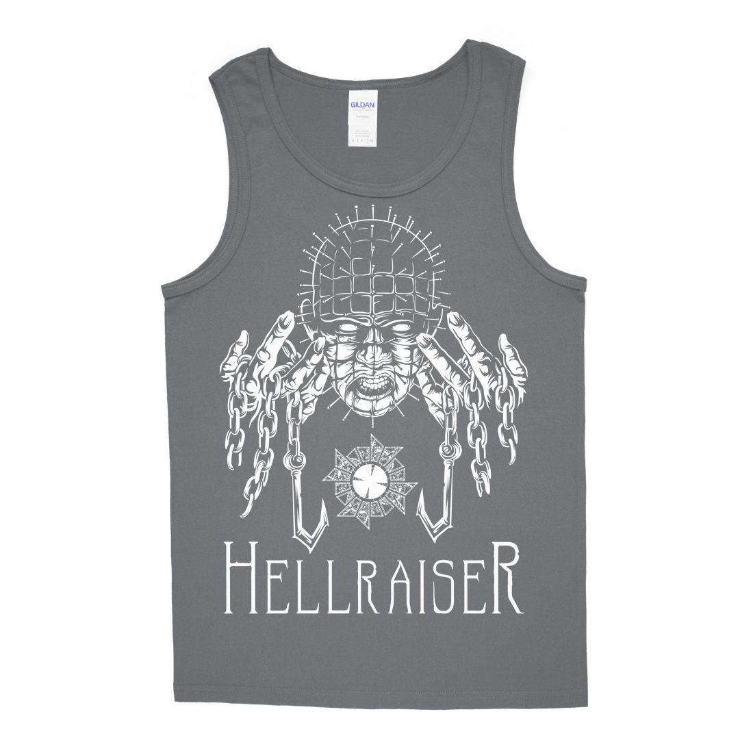 Hellraiser 001 (charcoal színű trikó)