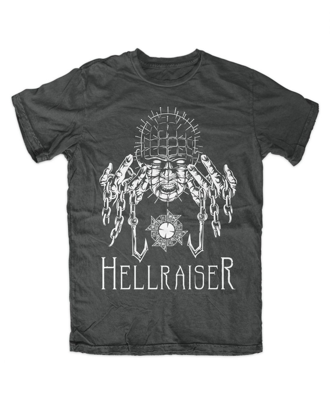 Hellraiser 001 (charcoal színű póló)
