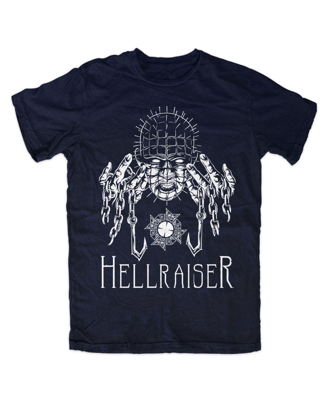 Hellraiser 001 (navy blue póló)