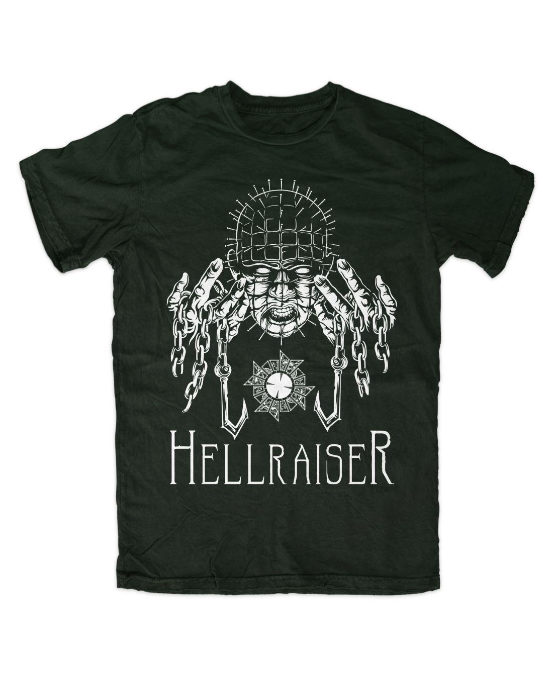 Hellraiser 001 (forest green póló)