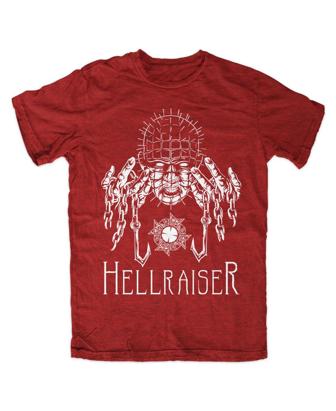 Hellraiser 001 (piros póló)