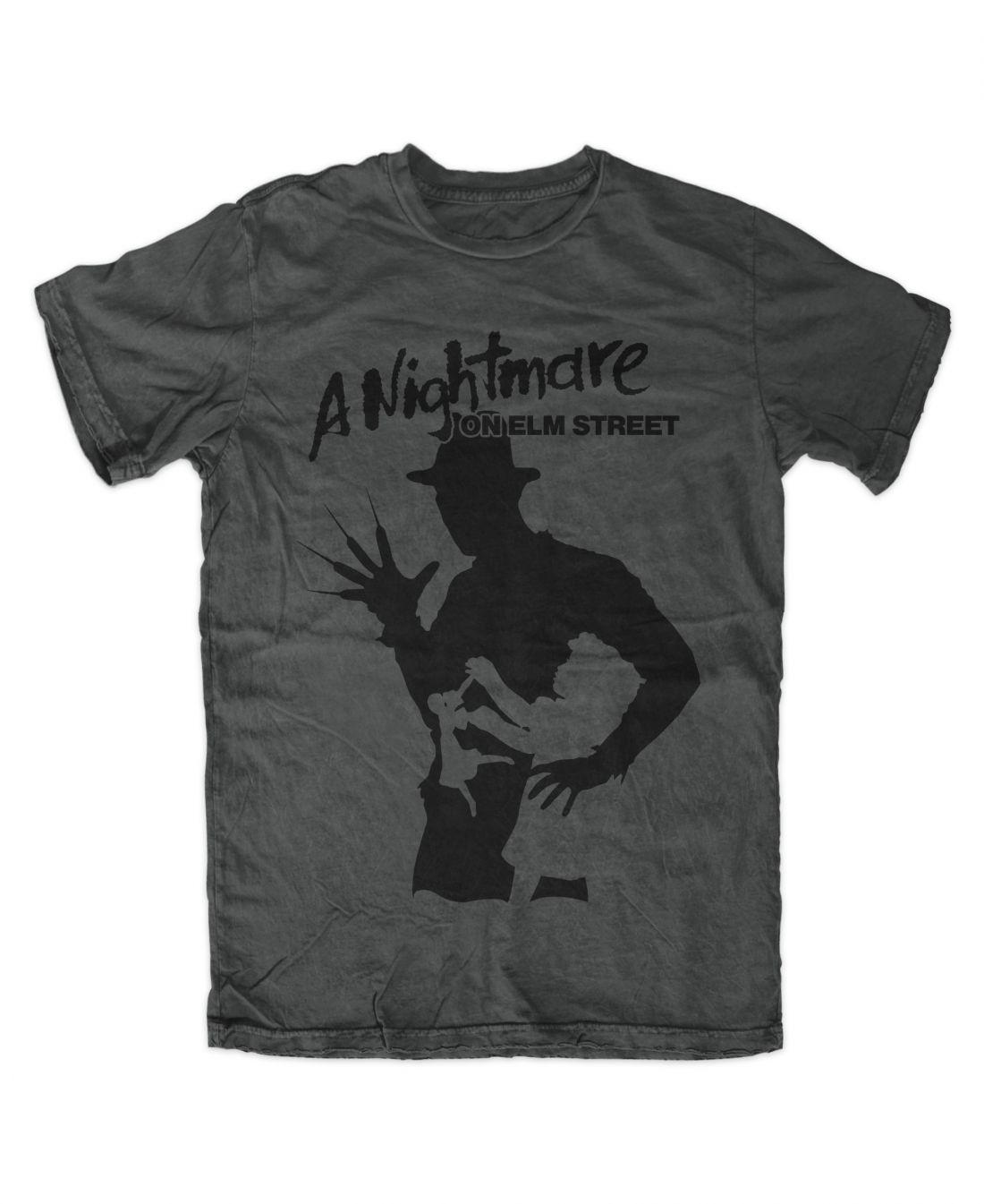 A Nightmare On Elm Street 001 (charcoal póló)
