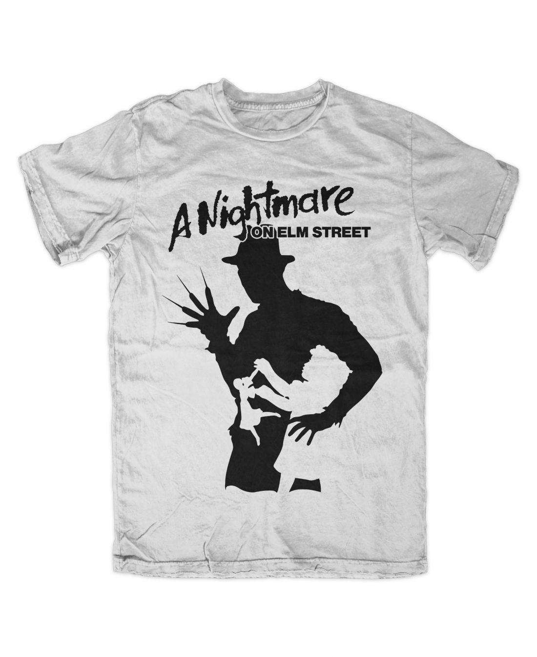 A Nightmare On Elm Street 001 (fehér póló)