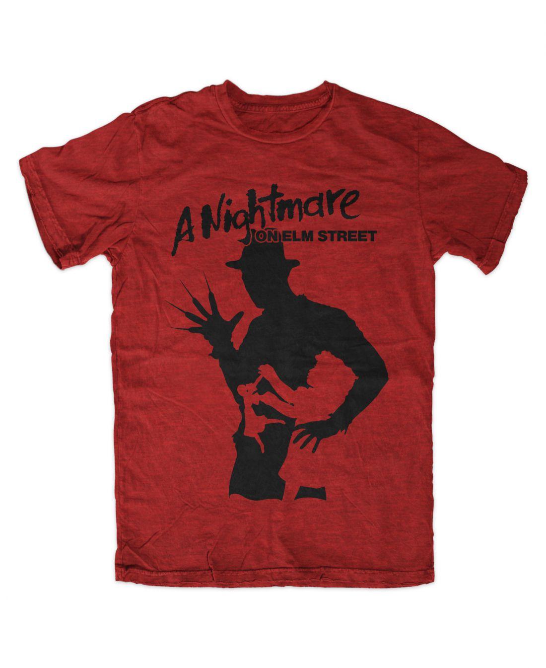 A Nightmare On Elm Street 001 (piros póló)