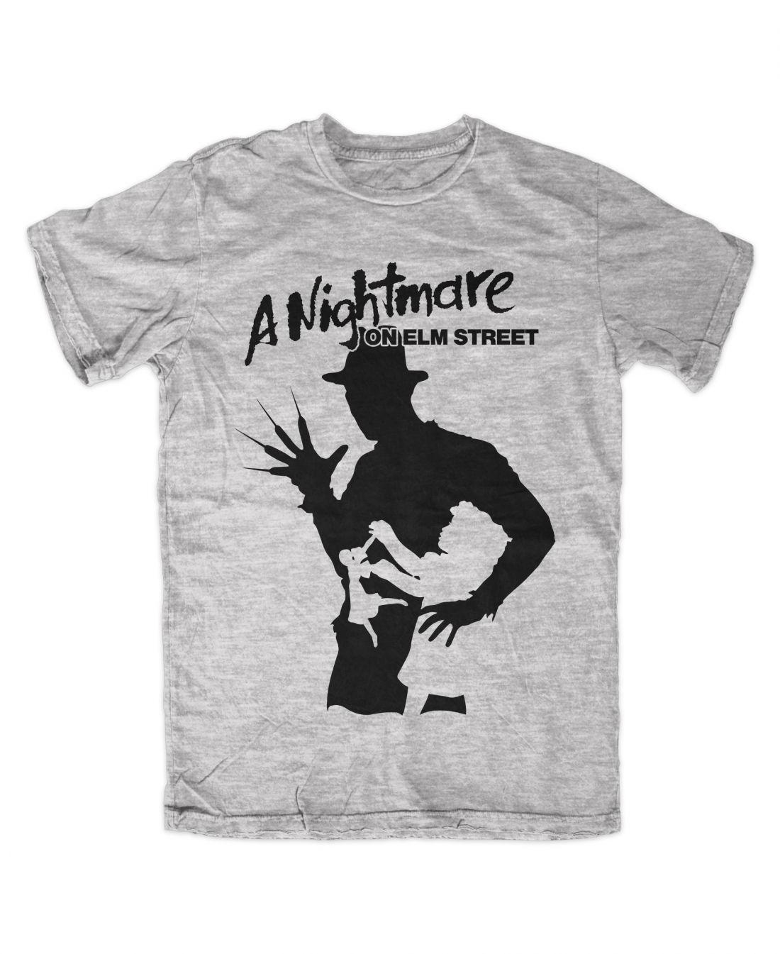 A Nightmare On Elm Street 001 (sportszürke póló)