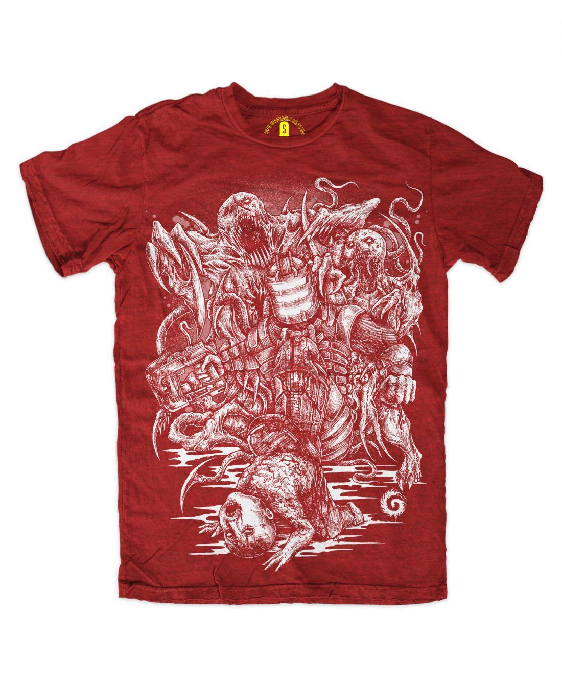 Stomper (piros póló)