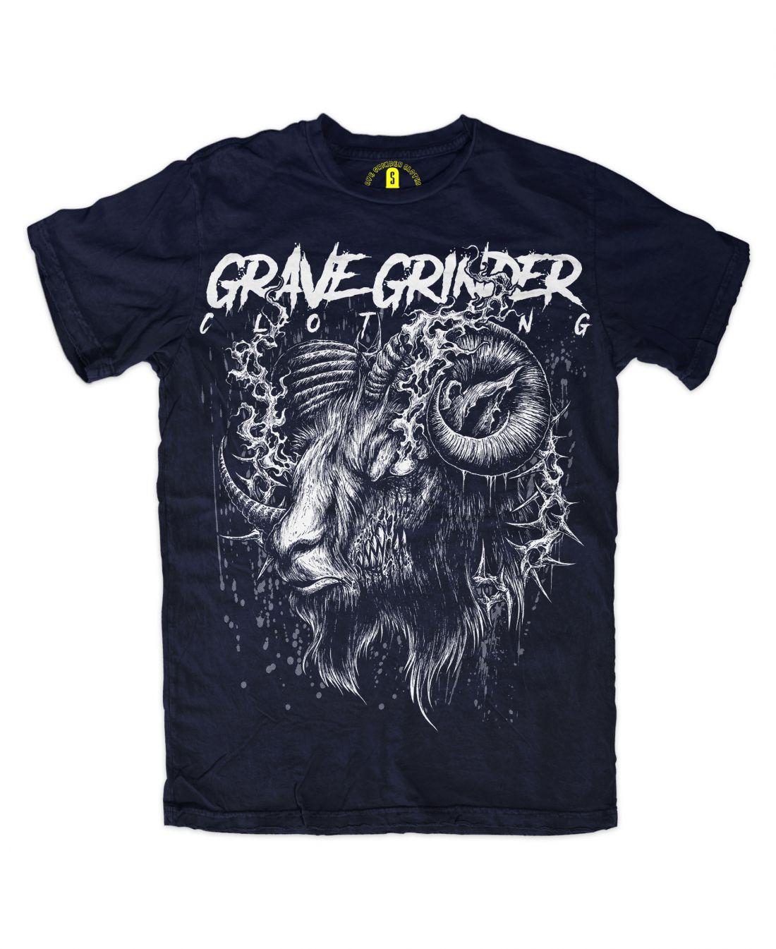 Goat (navy blue póló)