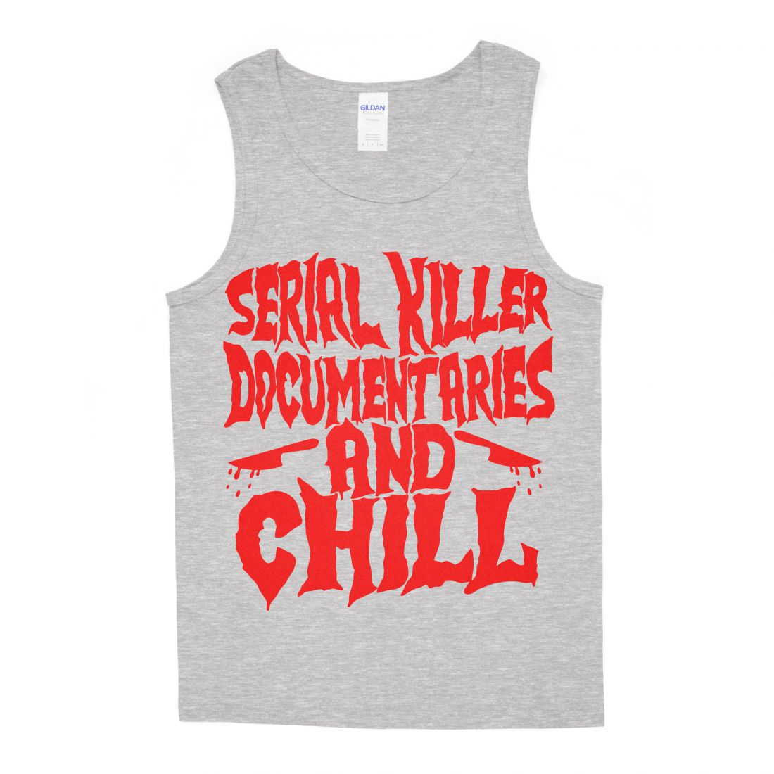 Serial Killer Documentaries (sportszürke trikó)
