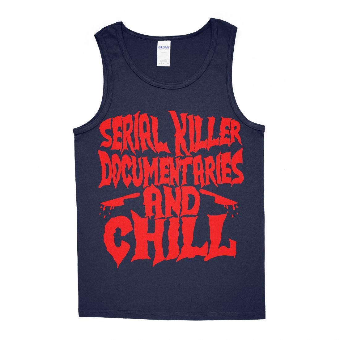 Serial Killer Documentaries (navy kék trikó)