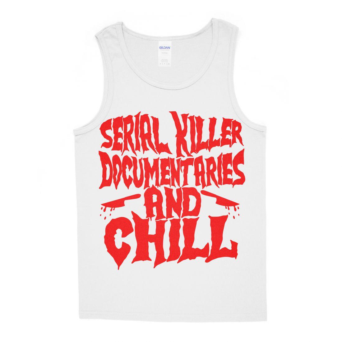 Serial Killer Documentaries (fehér trikó)