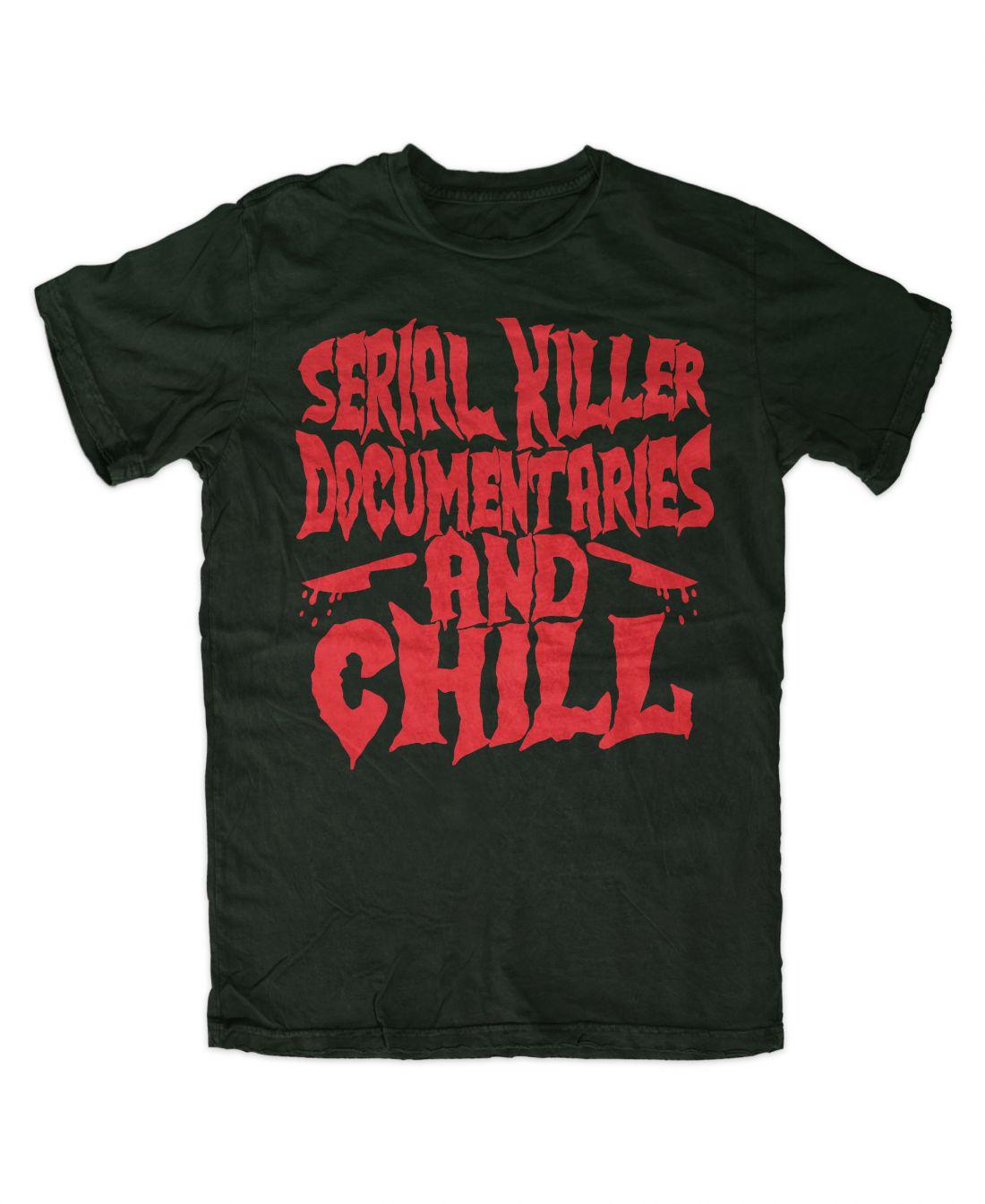 Serial Killer Documentaries (forest green póló)