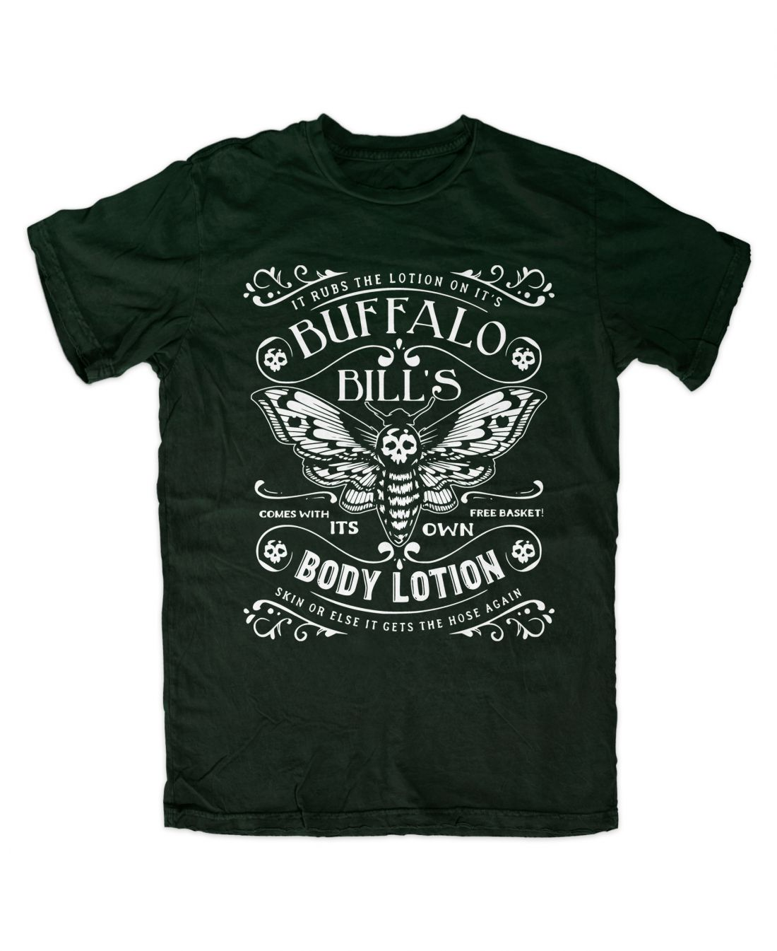 Buffalo Bill´s Body Lotion (forest green póló)