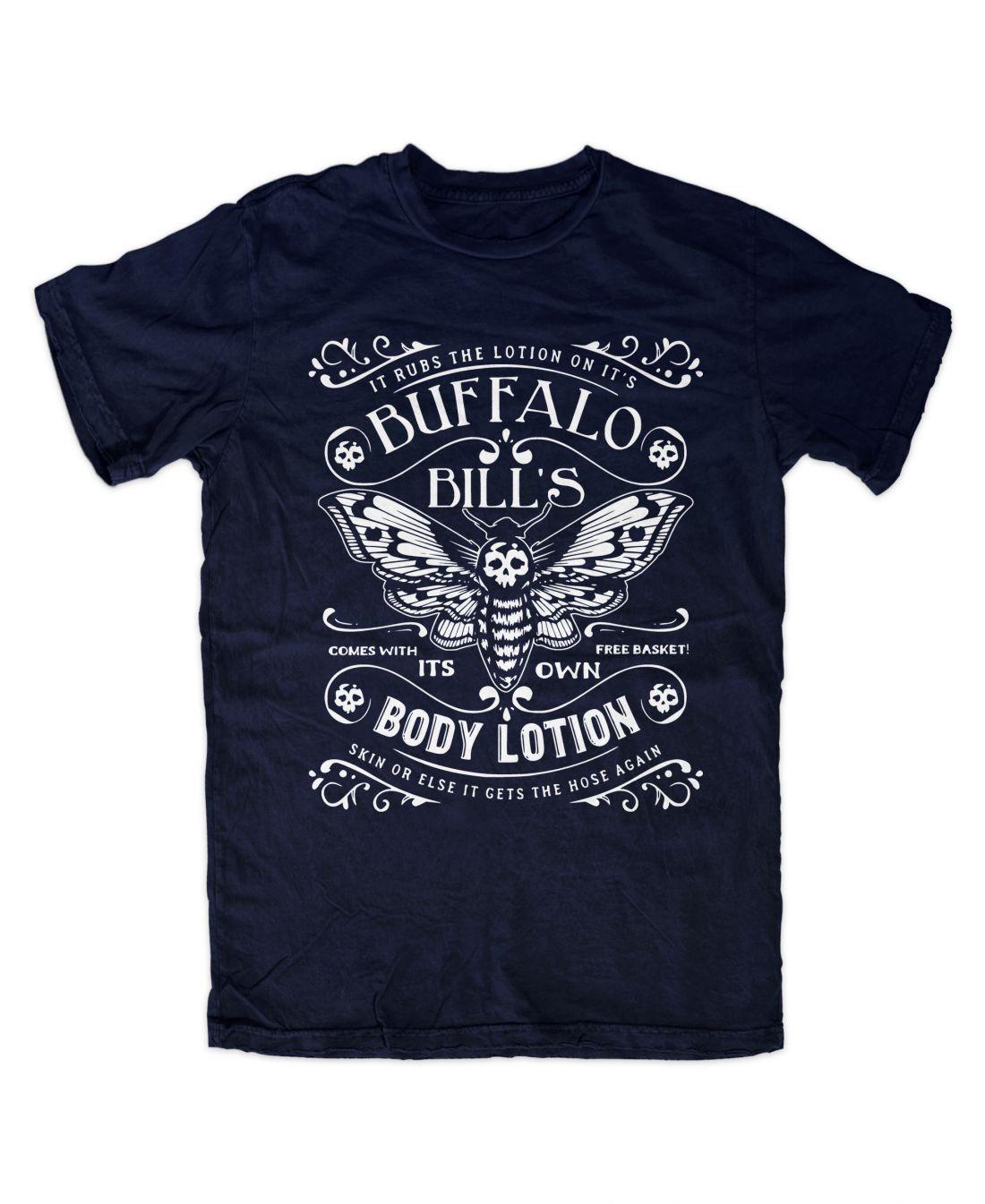 Buffalo Bill´s Body Lotion (navy blue póló)