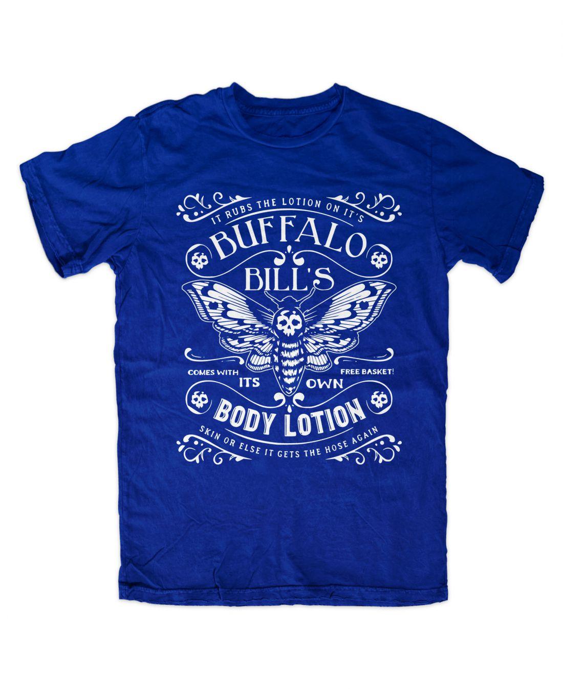 Buffalo Bill´s Body Lotion (királykék póló)