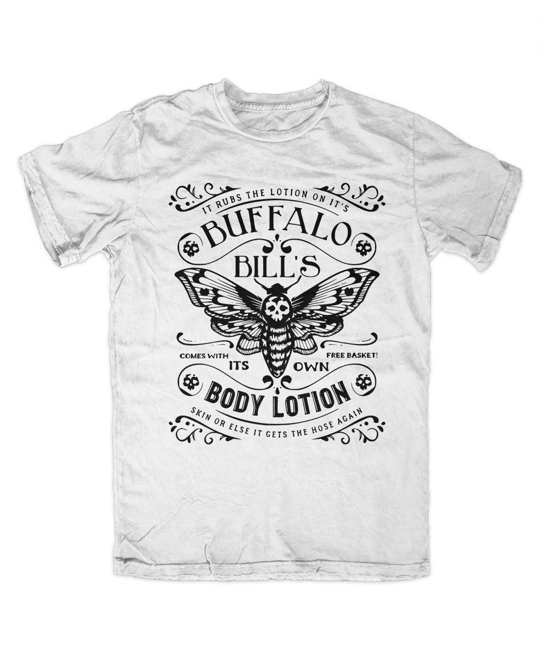 Buffalo Bill´s Body Lotion (fehér póló)