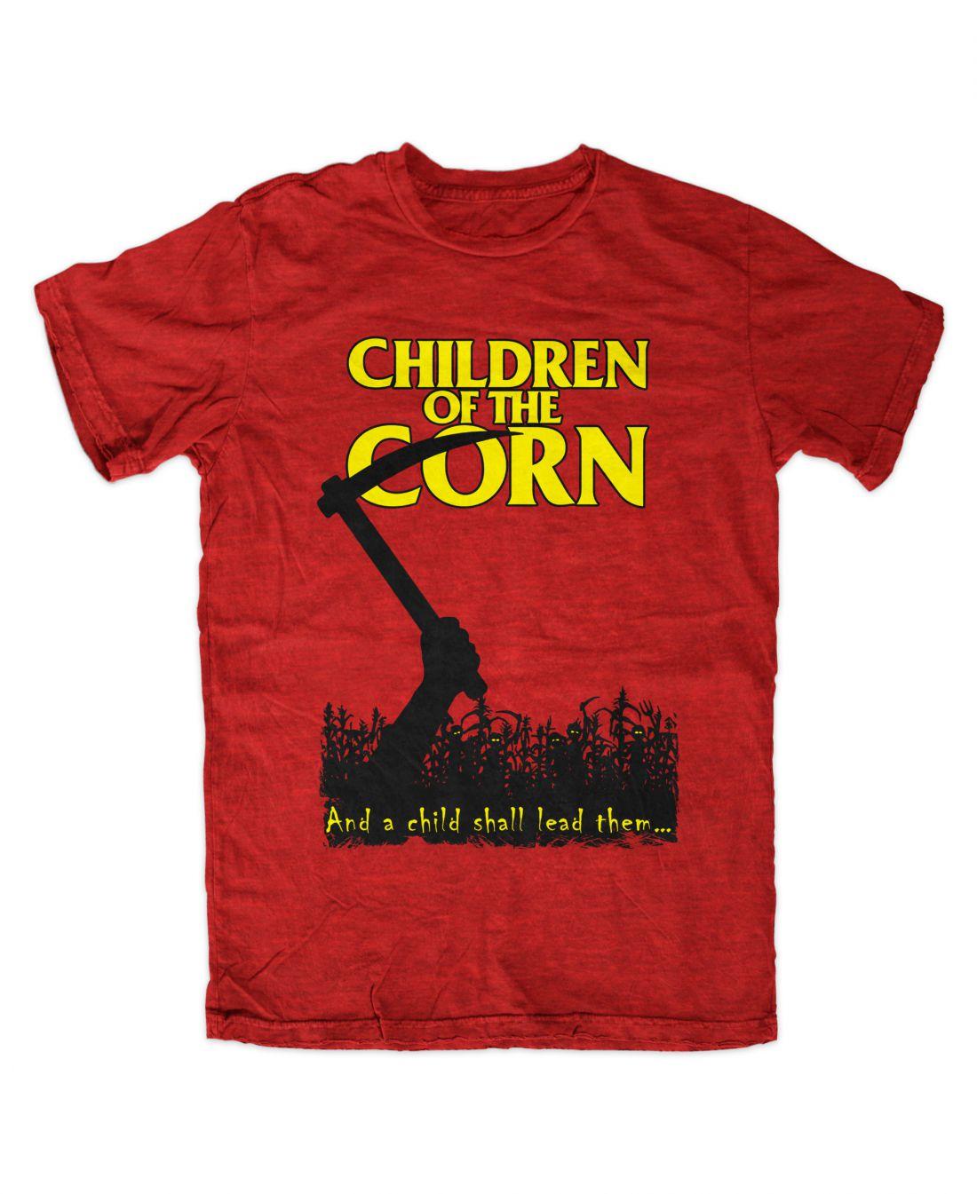Children Of The Corn (antique red póló)