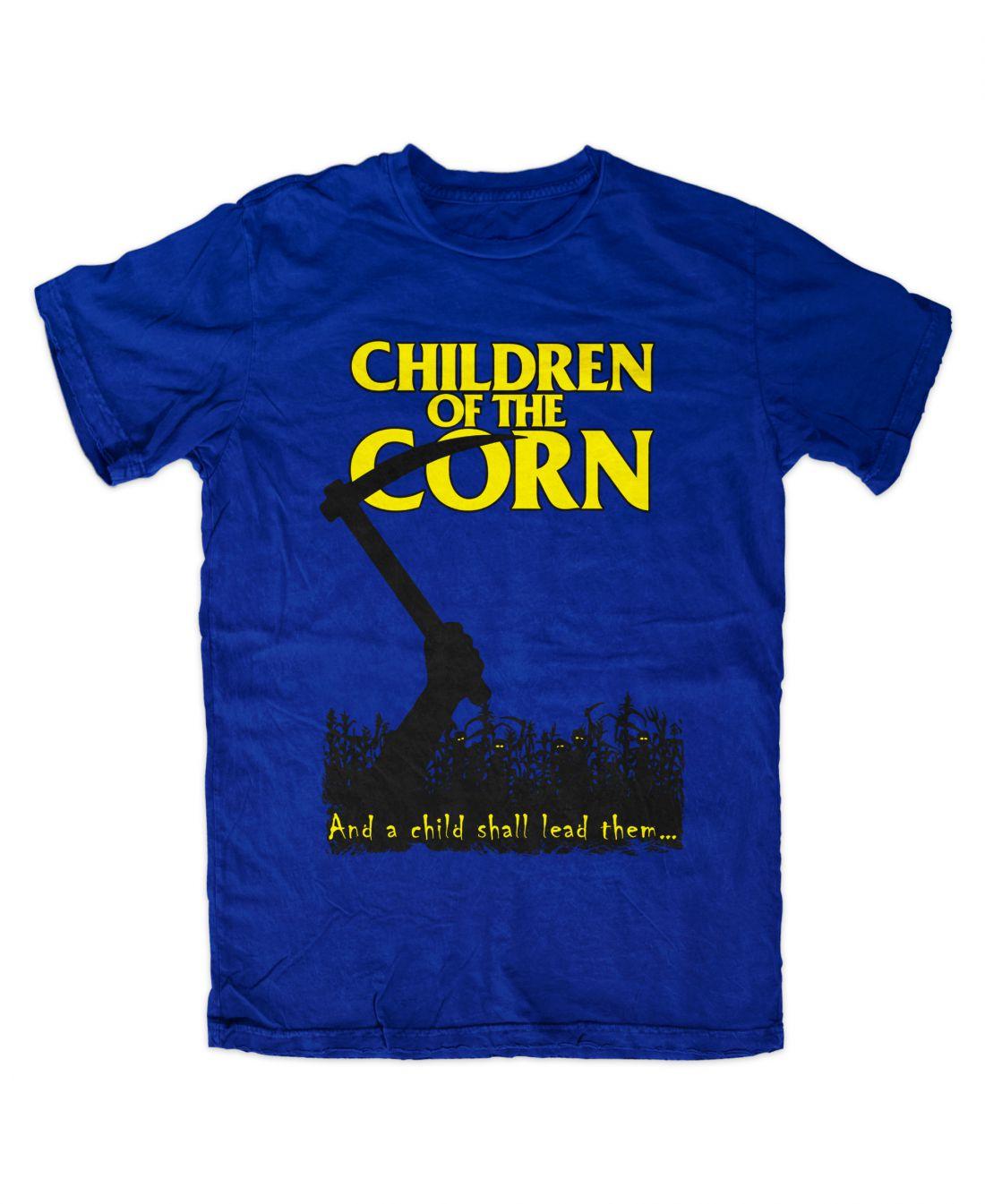Children Of The Corn (királykék póló)
