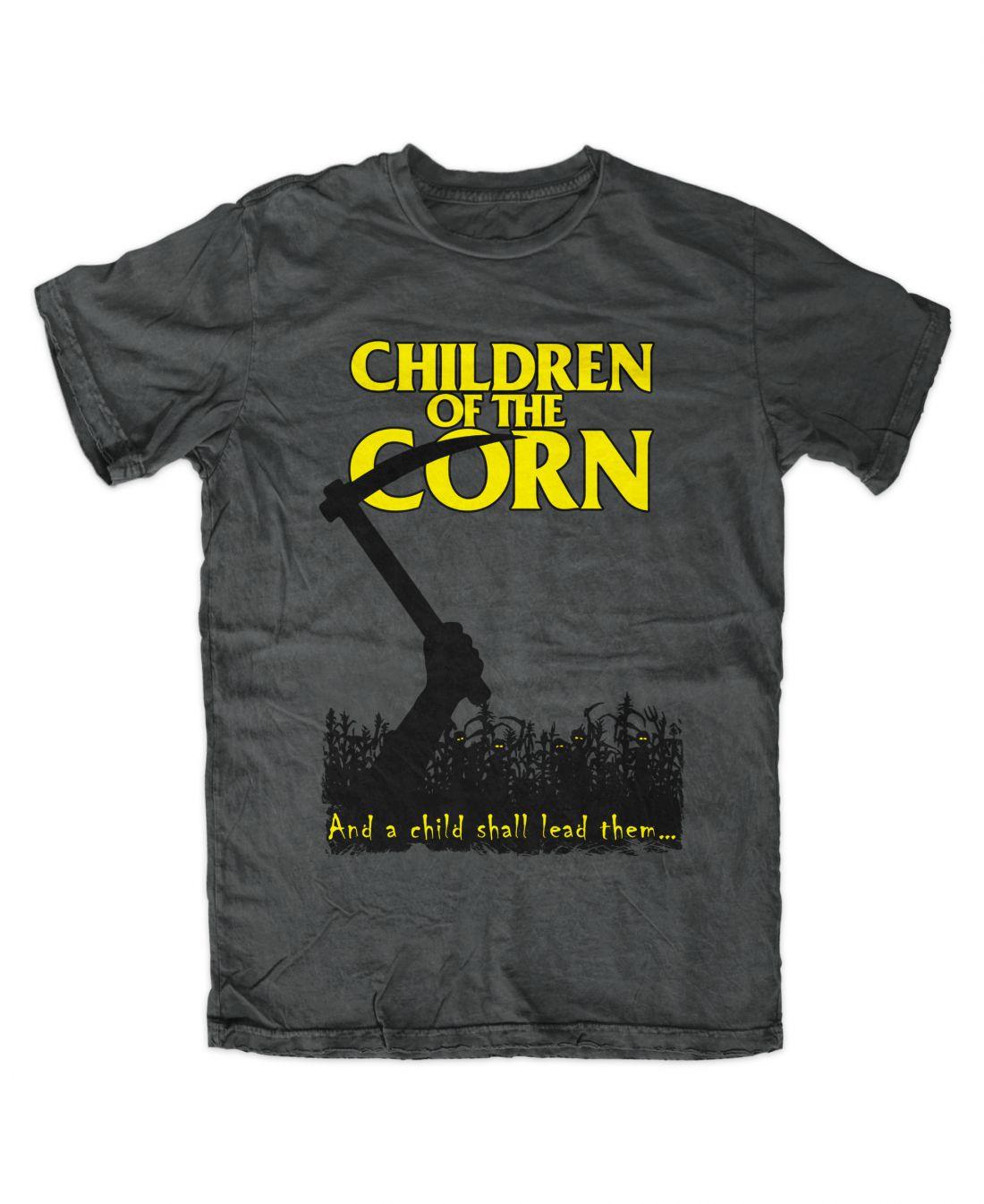 Children Of The Corn (charcoal póló)