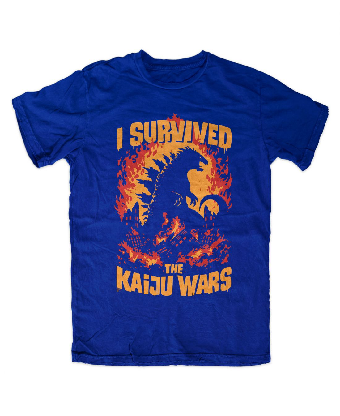Kaiju Wars (királykék póló)