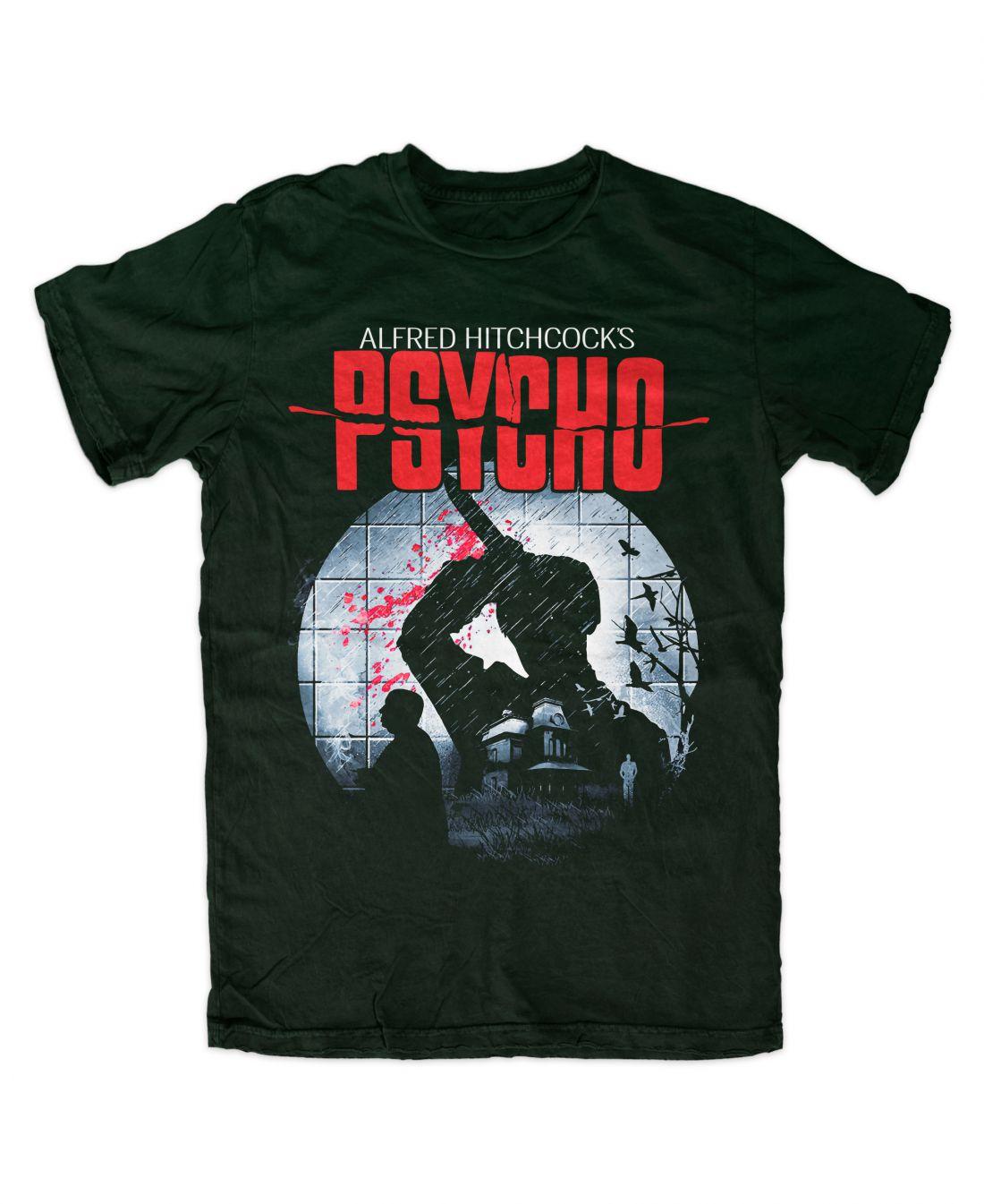 Psycho 001 (forest green póló)
