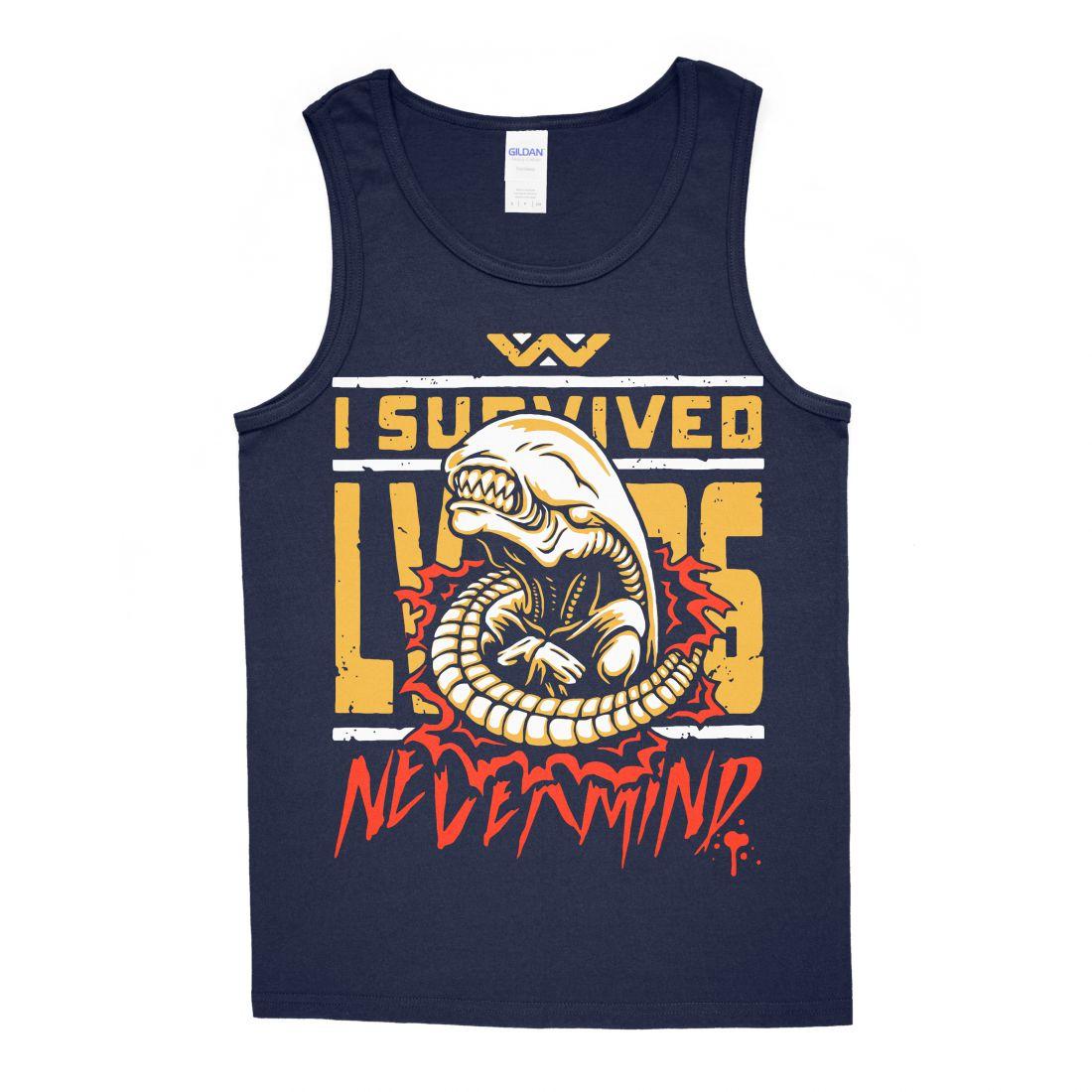Survived LV 426 (navy blue trikó)