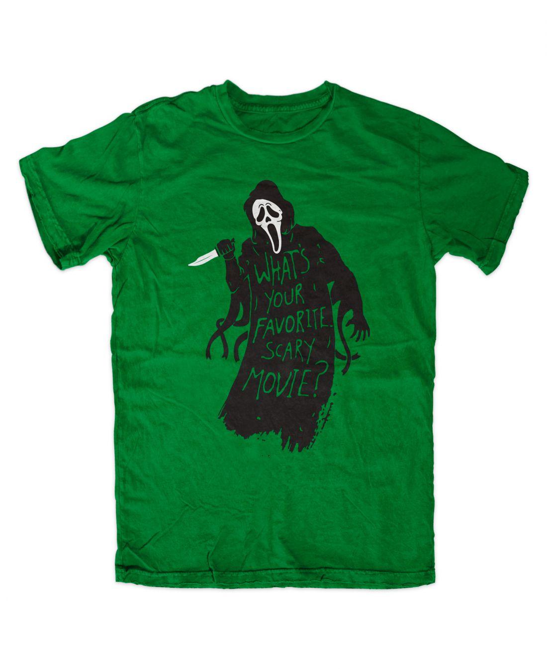 Favorite Scary Movie (irish green póló)