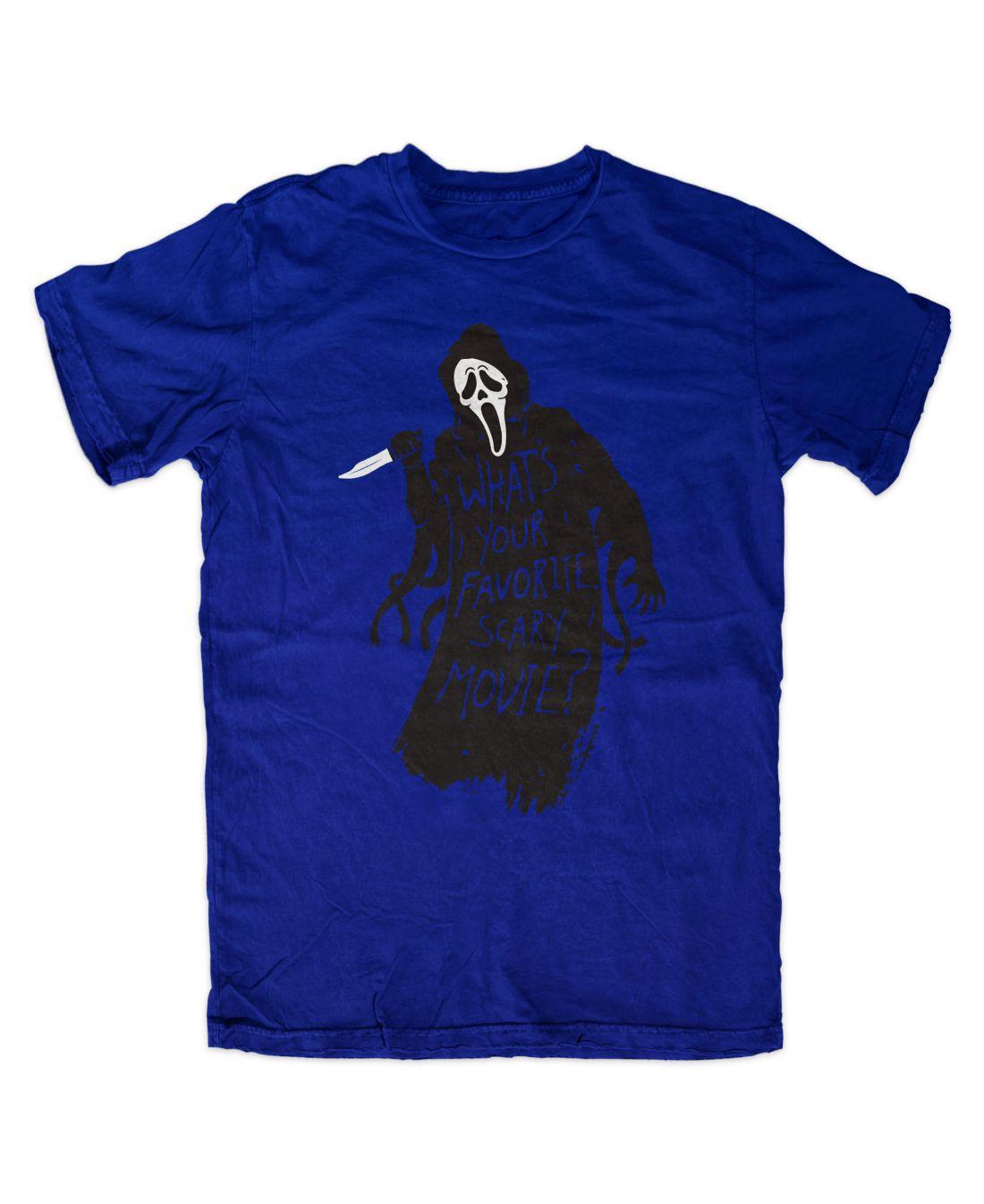 Favorite Scary Movie (királykék póló)