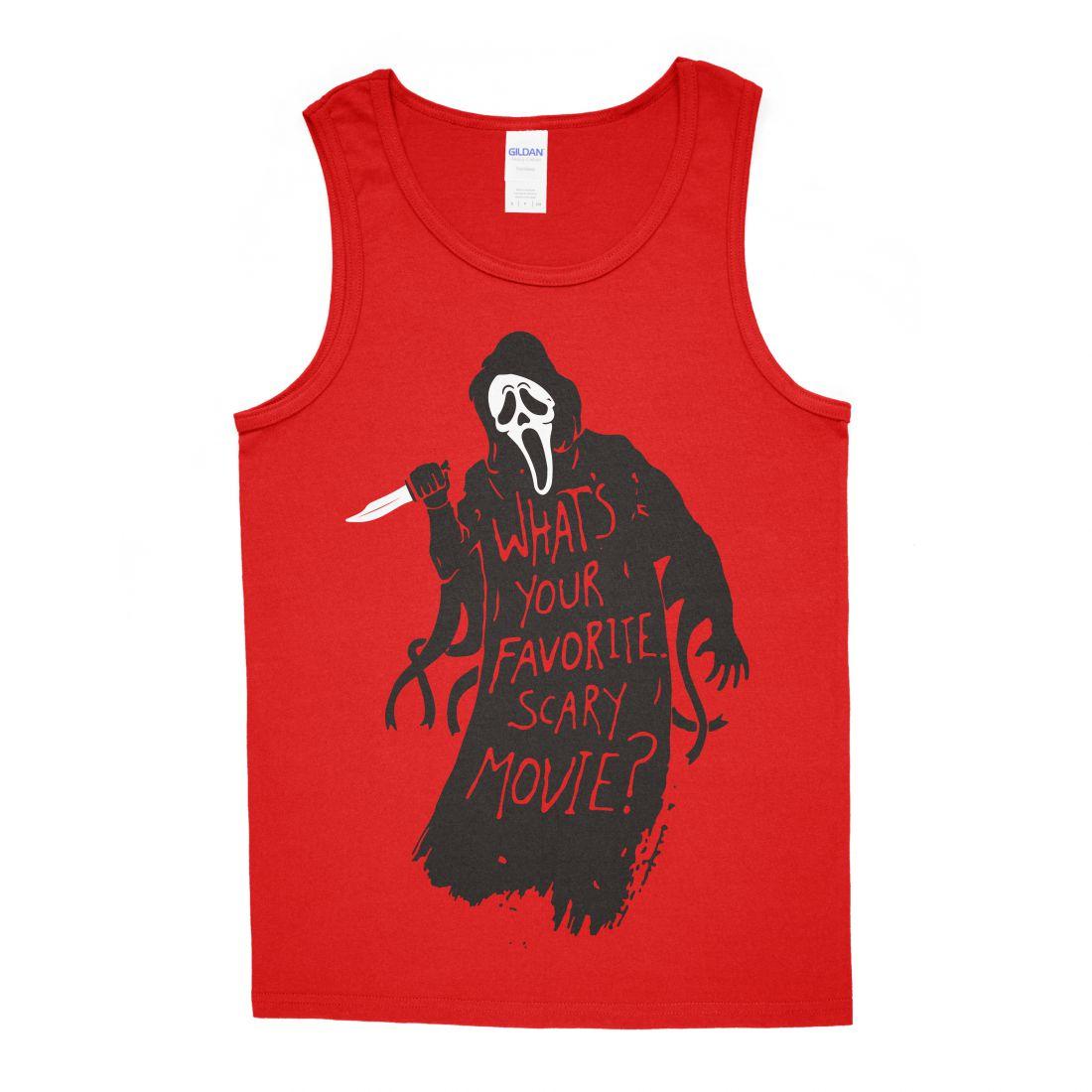 Favorite Scary Movie (piros trikó)