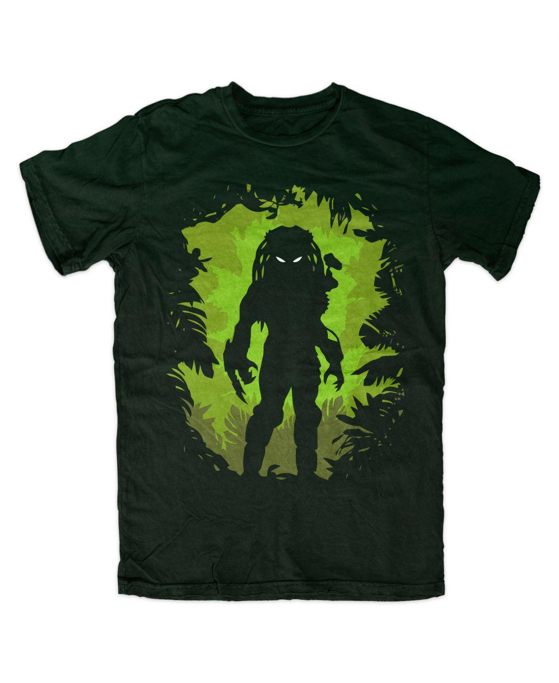 Predator 001 (forest green póló)