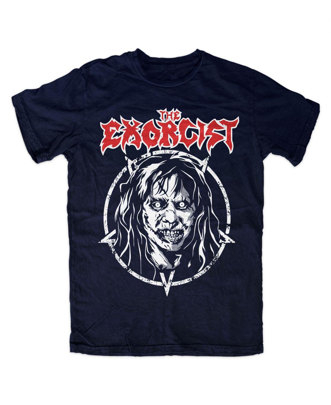The Exorcist 001 metal series (navy blue póló)