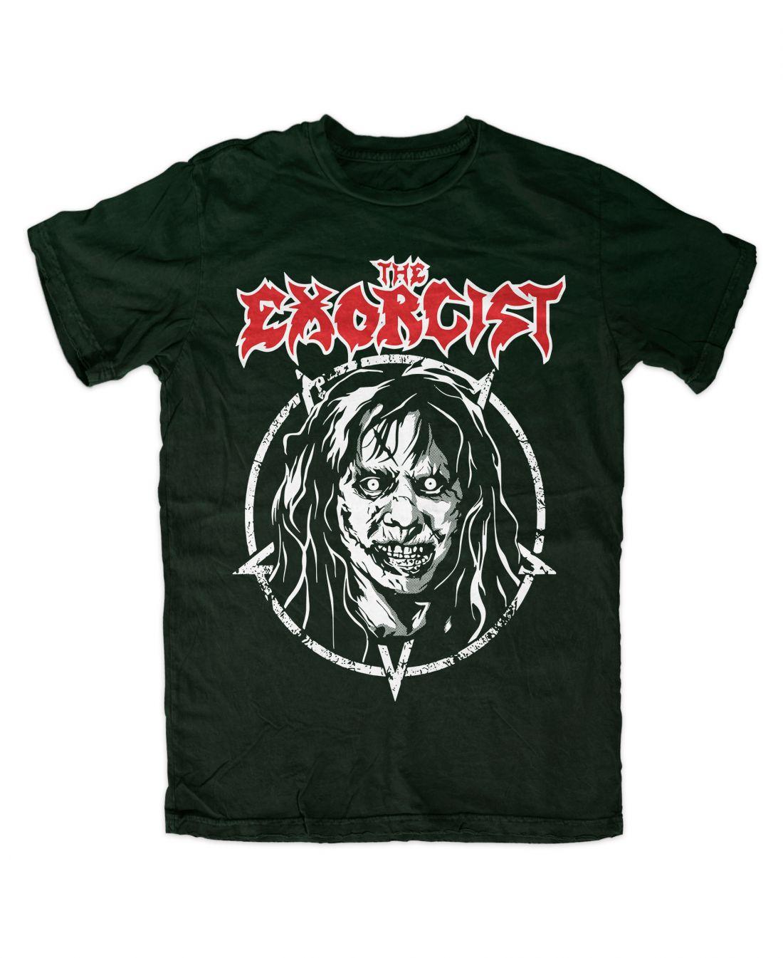 The Exorcist 001 metal series (forest green póló)